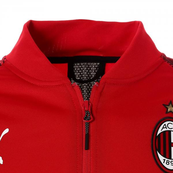 Puma Felpa Prematch Milan   18/19 Rosso Tifoshop