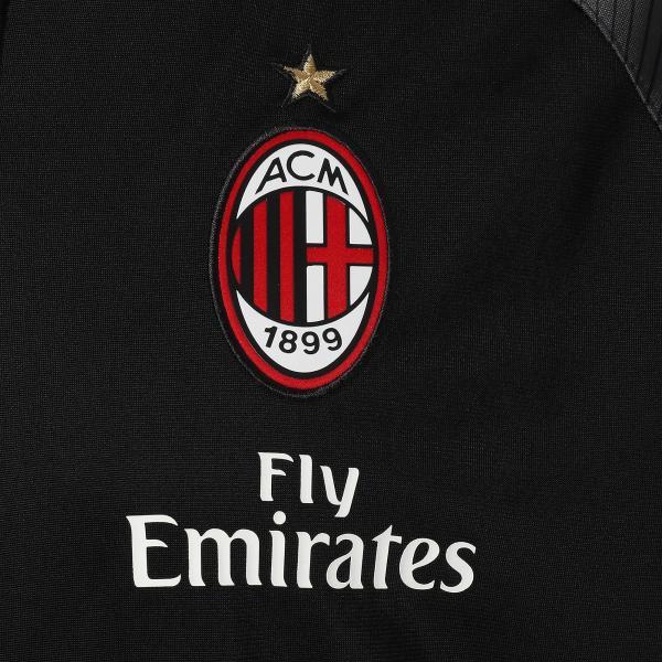 Puma Felpa Prematch Milan   18/19 Nero Tifoshop