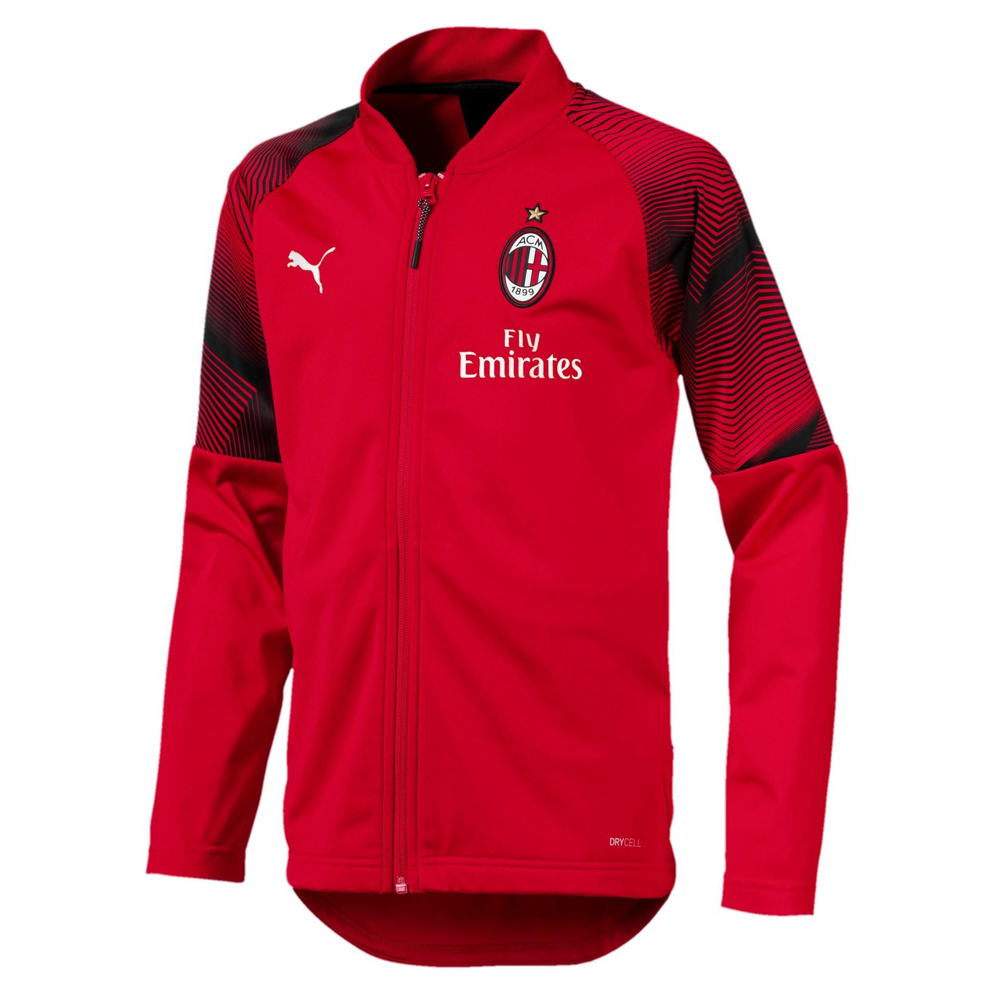 Puma Felpa Prematch Milan Junior  18/19