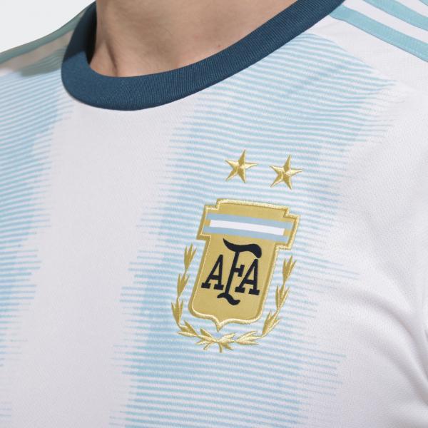 3a91cba23 ... Adidas Jersey Home Argentina 20 22 white light aqua Tifoshop ...