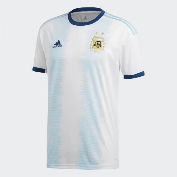 Adidas Maglia Gara Home Argentina   20/22 Bianco Azzurro
