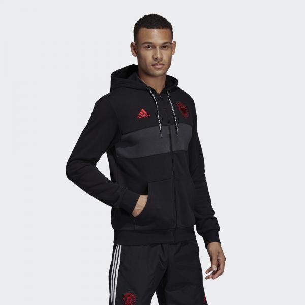 Adidas Felpa  Manchester United Nero Tifoshop