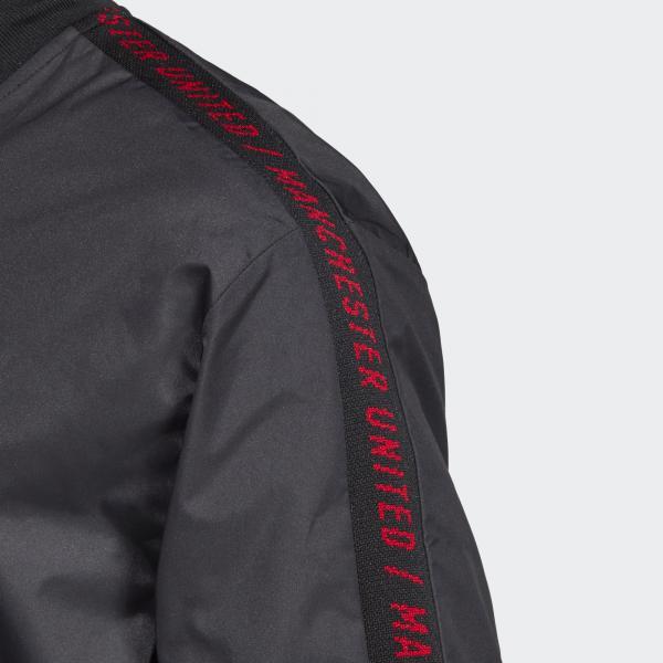 Adidas Felpa Prematch Manchester United Nero Tifoshop