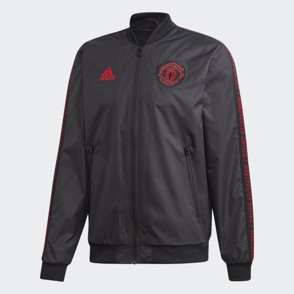 Adidas Felpa Prematch Manchester United Nero