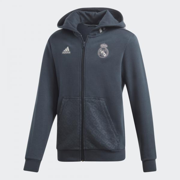 Adidas Felpa  Real Madrid Junior Grigio