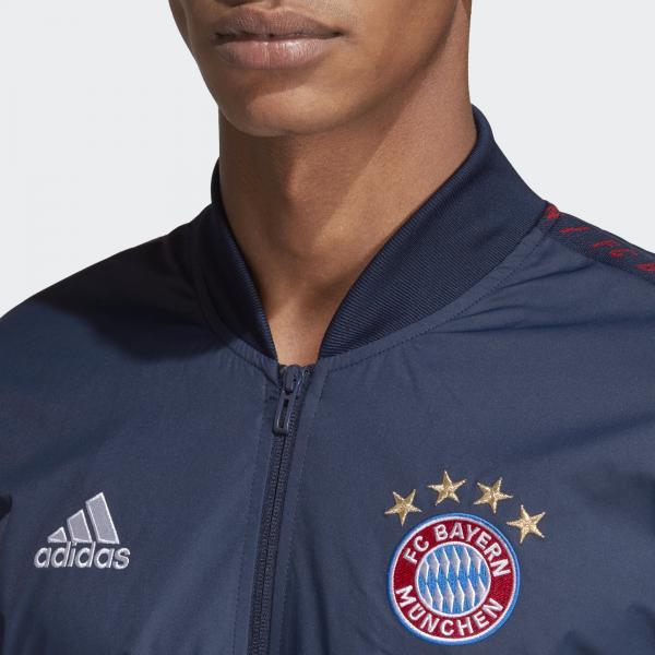 Adidas Felpa Prematch Bayern Monaco Blu Tifoshop