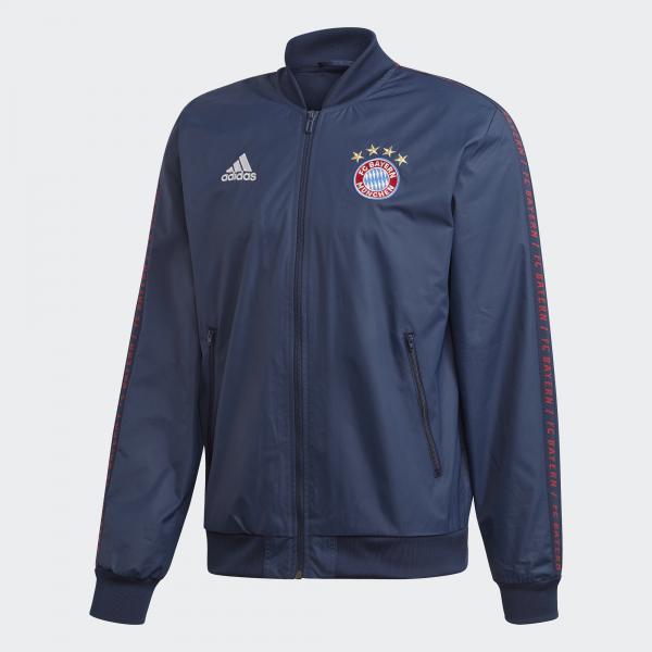Adidas Felpa Prematch Bayern Monaco Blu
