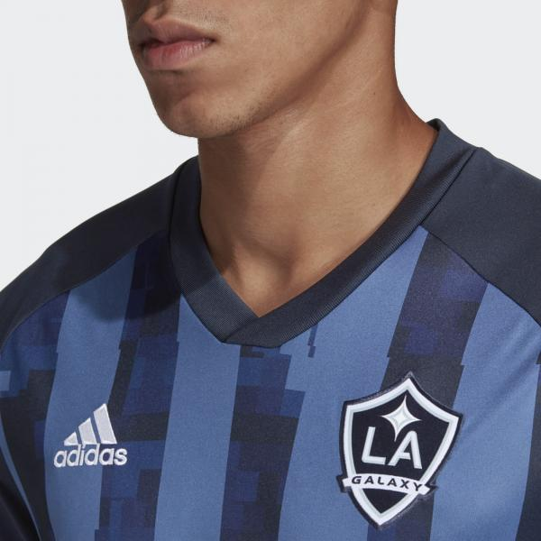 Adidas Maglia Gara Away Los Angeles Galaxy   18/19 Blu Tifoshop