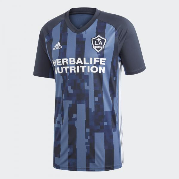 Adidas Maglia Gara Away Los Angeles Galaxy   18/19 Blu