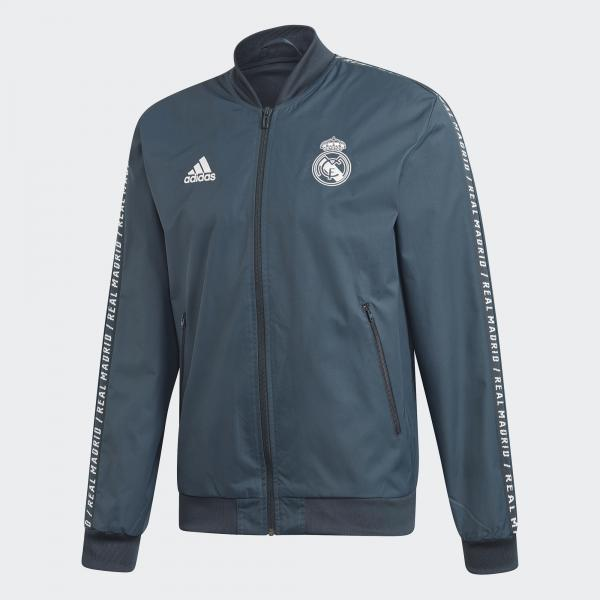Adidas Felpa Prematch Real Madrid Grigio