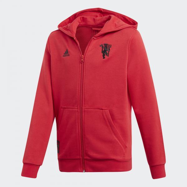Adidas Felpa  Manchester United Junior Rosso