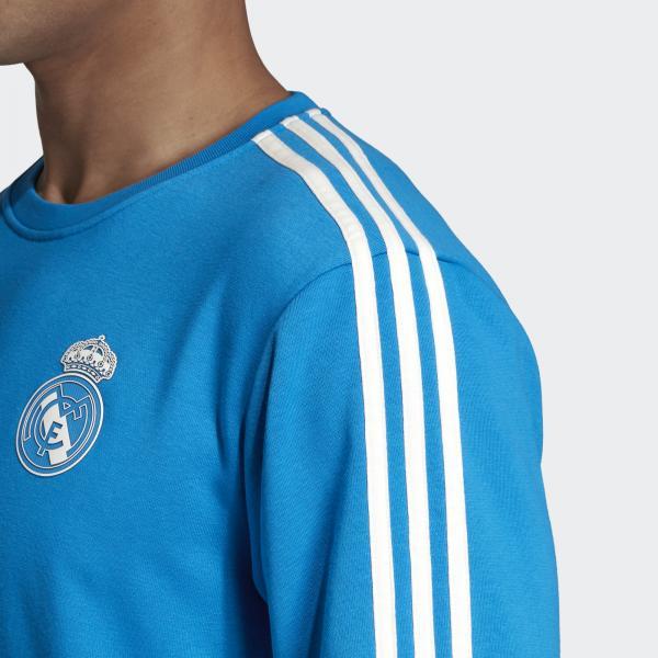 Adidas Felpa  Real Madrid Azzurro Tifoshop