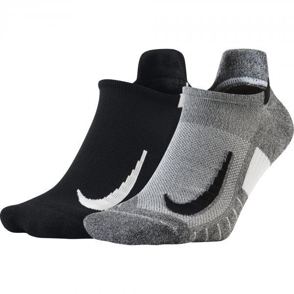 Nike Calze Multiplier  Unisex Grigio Nero