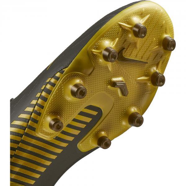 Nike Scarpe Calcio Mercurial Vapor Xii Pro Ag-pro Grigio Giallo Tifoshop
