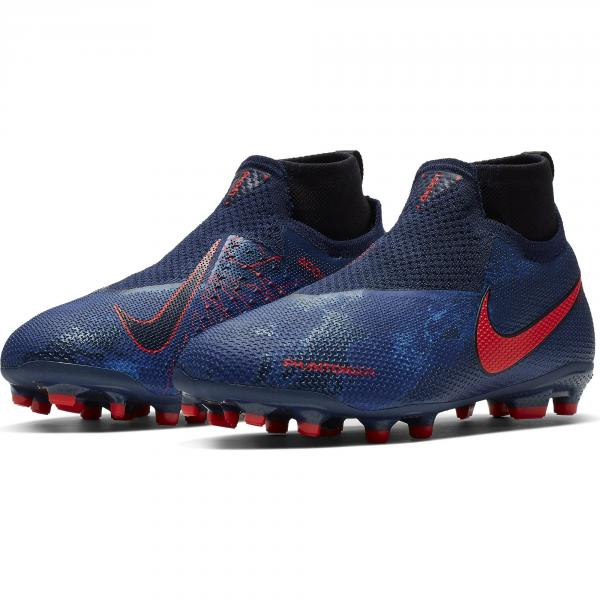 Nike Scarpe Calcio Phantomvsn Elite Dynamic Fit Game Over Mg  Junior Blu Tifoshop