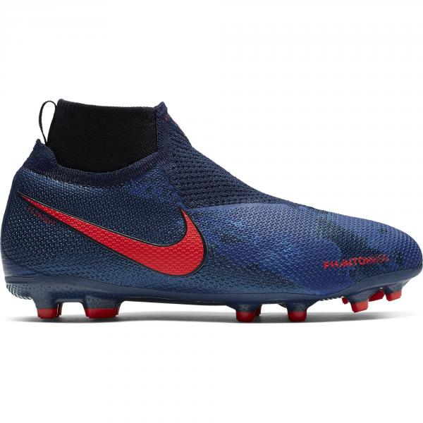 Nike Scarpe Calcio Phantomvsn Elite Dynamic Fit Game Over Mg  Junior Blu