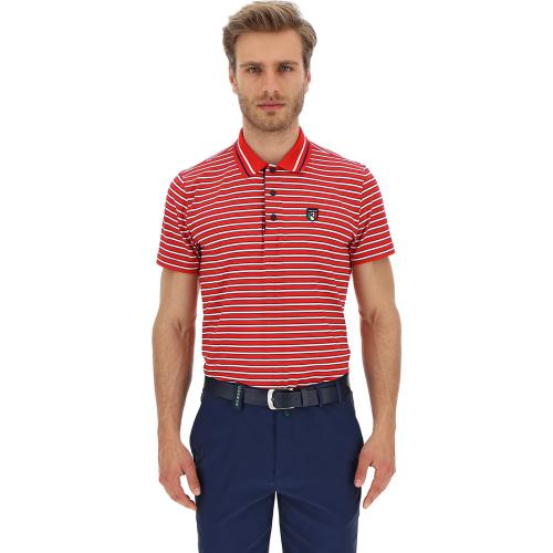 Chervò Polo hombre red blue white