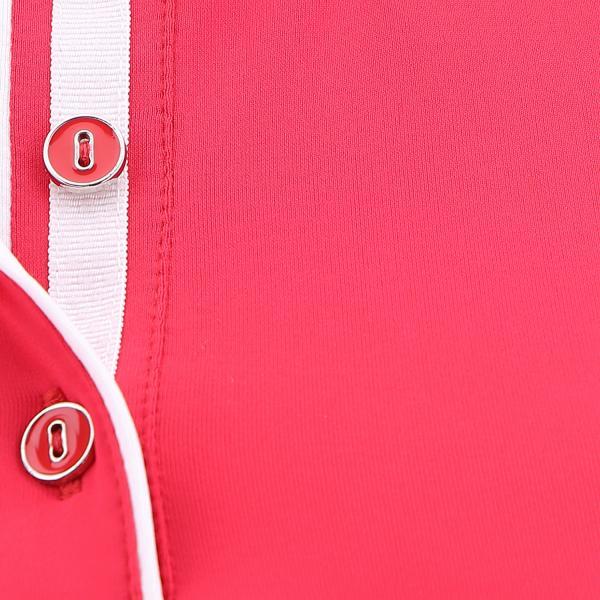 Polo Donna ARAMA 63648 Rosso Turandot Chervò