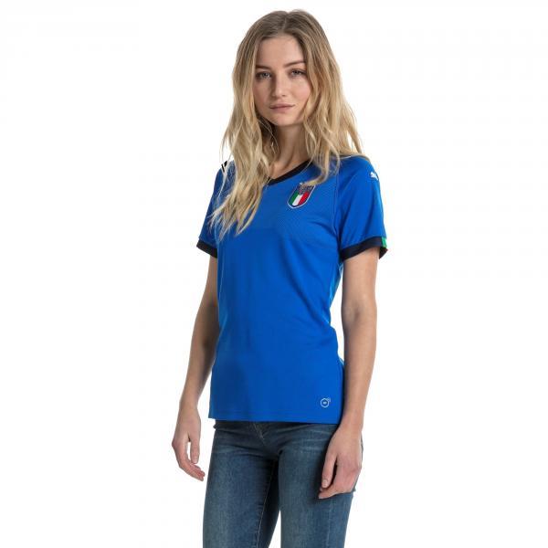 Maglia Replica Home Italia Donna Azzurro Italia FIGC Store