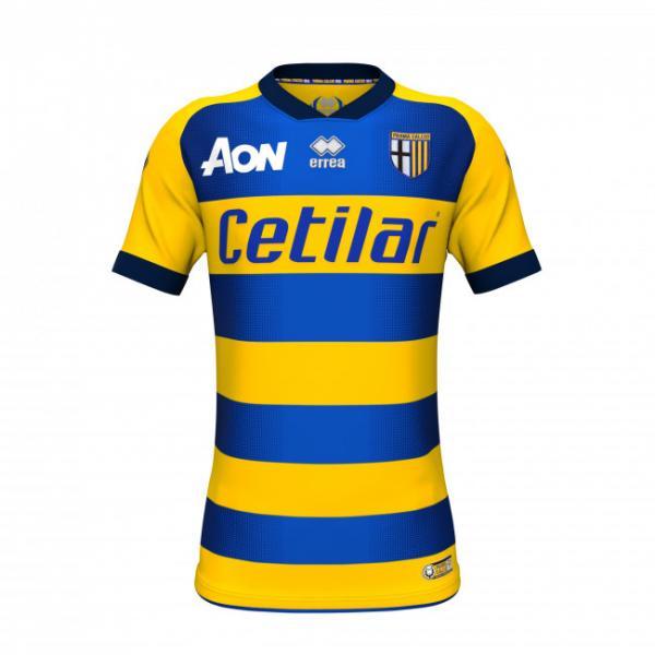 Errea Maglia Gara Away Parma   18/19 Giallo Blu