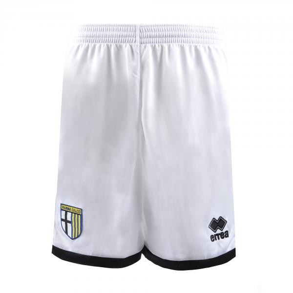 Errea Pantaloncini Gara Home Parma   18/19 Bianco Nero