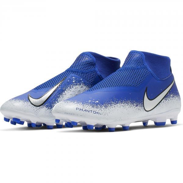 Nike Scarpe Calcio Phantom Vsn Academy Df Fg/mg Blu Tifoshop
