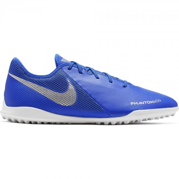 Nike Scarpe Calcetto Phantom Vsn Academy Tf Blu