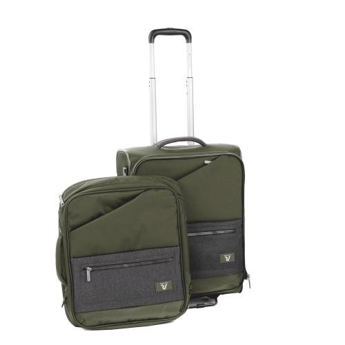 TROLLEY CABINE  GREEN MILITAR