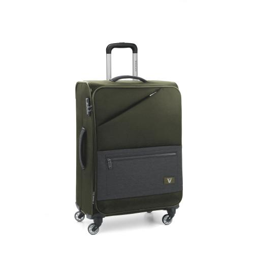 MEDIUM LUGGAGE  GREEN MILITAR