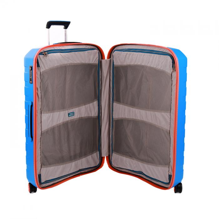 Trolley Grande Taille  ORANGE/ELECTRIC BLUE Roncato