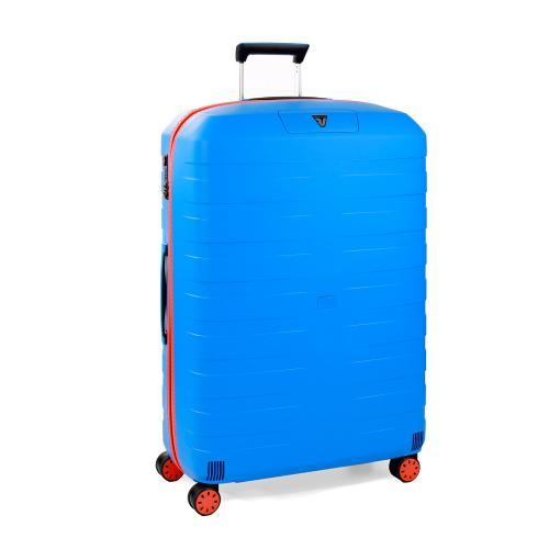 LARGE LUGGAGE  ORANGE/ELECTRIC BLUE