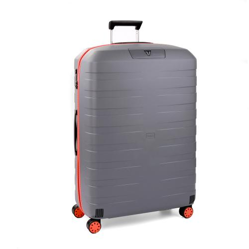 LARGE LUGGAGE  ORANGE/GREY