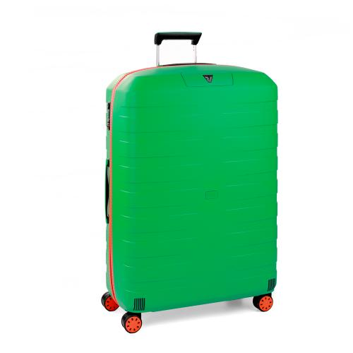 LARGE LUGGAGE  ORANGE/MINT