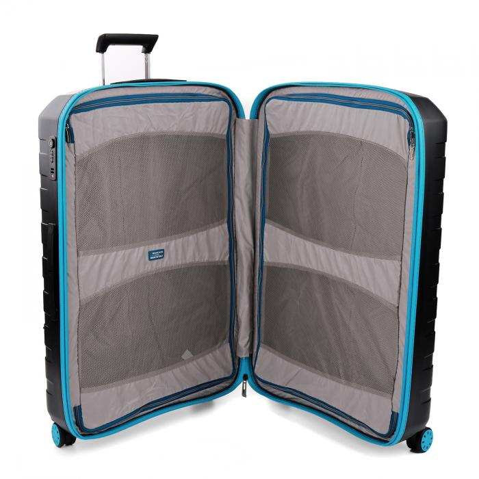 Large Luggage  LIGHT BLUE/BLACK Roncato