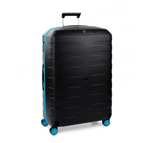 TROLLEY GRANDE TAILLE  LIGHT BLUE/BLACK
