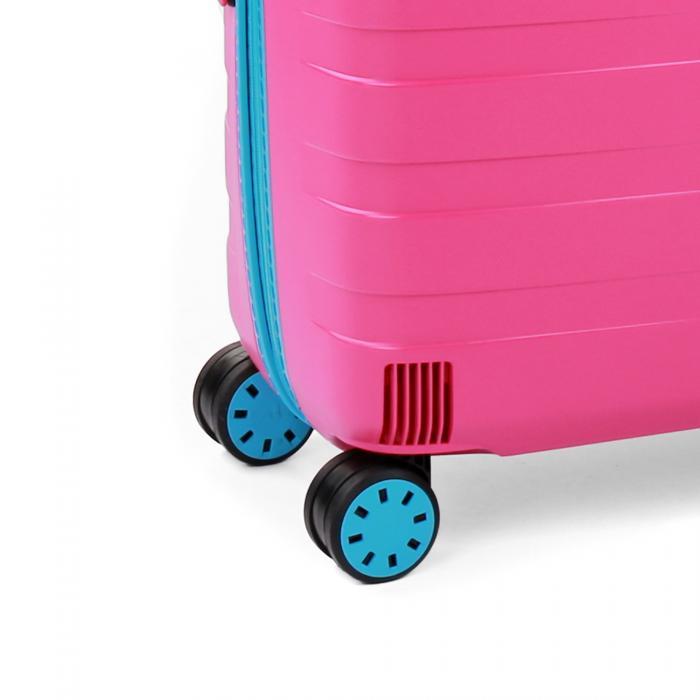 Large Luggage  LIGHT BLUE/PINK Roncato