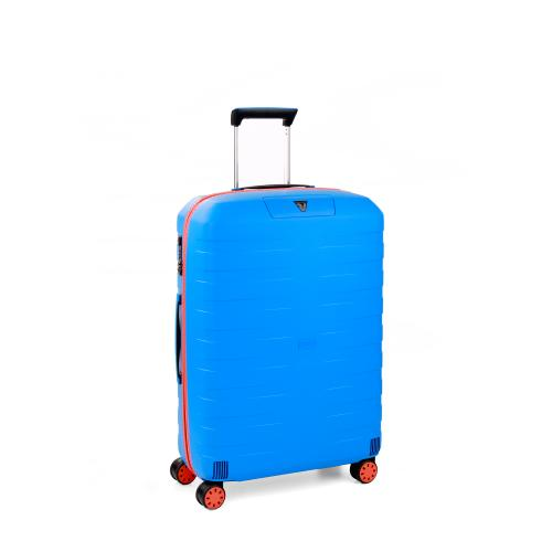 MEDIUM LUGGAGE  ORANGE/ELECTRIC BLUE