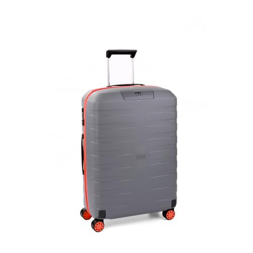 MEDIUM LUGGAGE  ORANGE/GREY