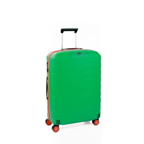 MEDIUM LUGGAGE  ORANGE/MINT