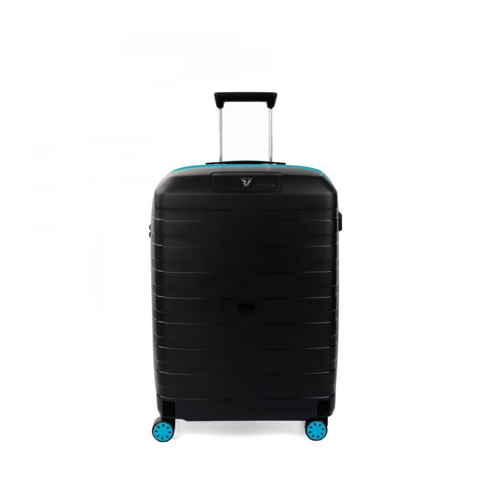 Medium Luggage  LIGHT BLUE/BLACK Roncato