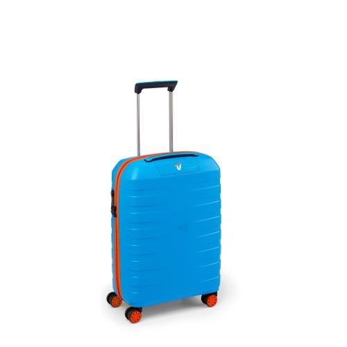 CABIN LUGGAGE  ORANGE/ELECTRIC BLUE