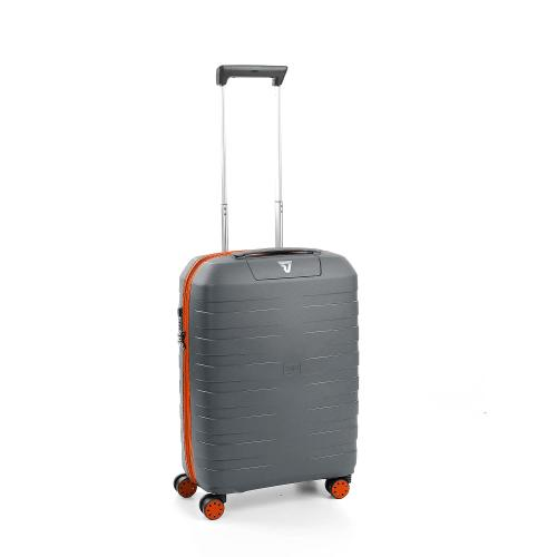 CABIN LUGGAGE  ORANGE/GREY