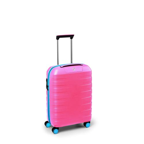CABIN LUGGAGE  LIGHT BLUE/PINK