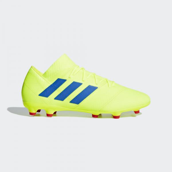 Adidas Scarpe Calcio Nemeziz 18.2 Fg Giallo
