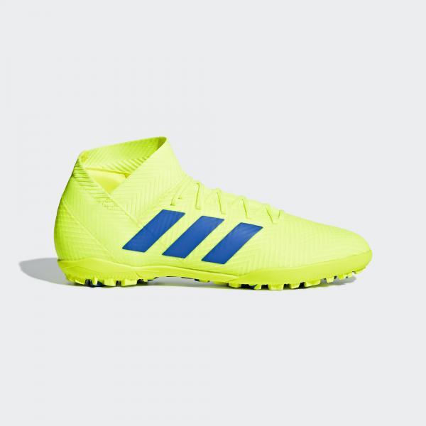 Adidas Scarpe Calcetto Nemeziz Tango 18.3 Giallo