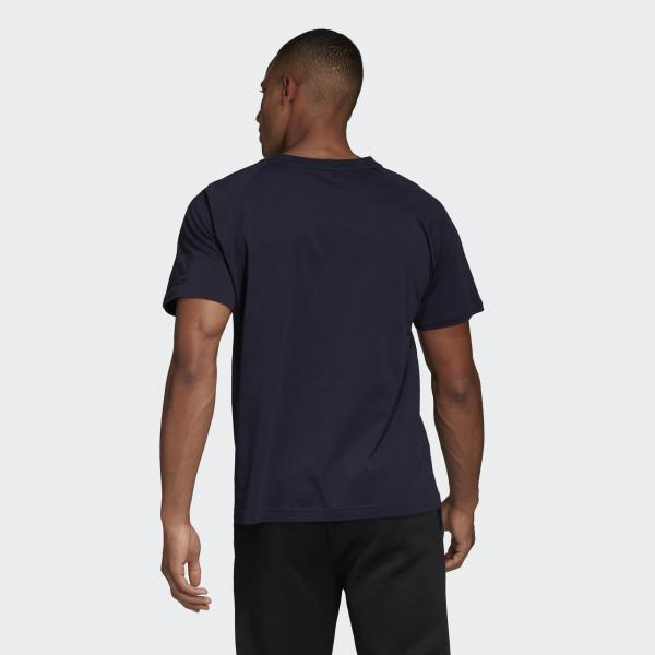 Adidas T-shirt Z.n.e. Blu Tifoshop
