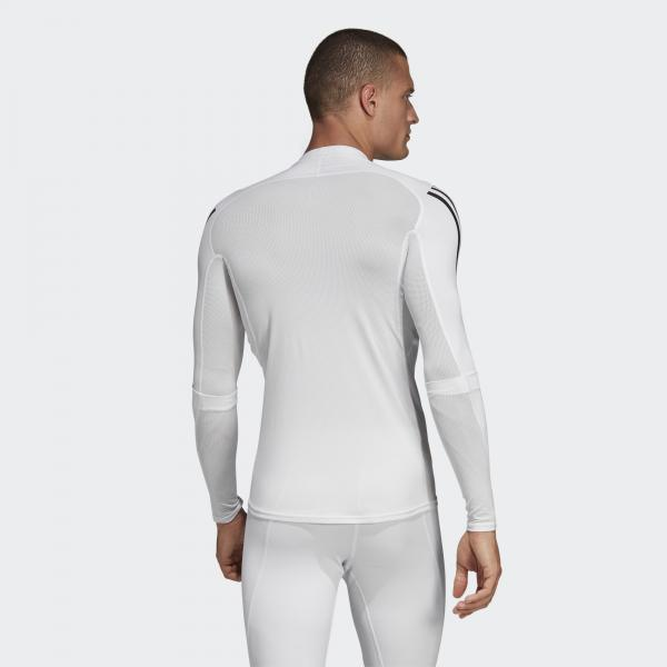 Adidas Maglia Alphaskin Sport+ 3-stripes    2019 Bianco Tifoshop
