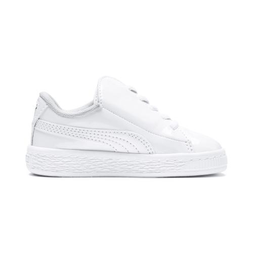 Puma Shoes Basket Crush Patent AC  Junior