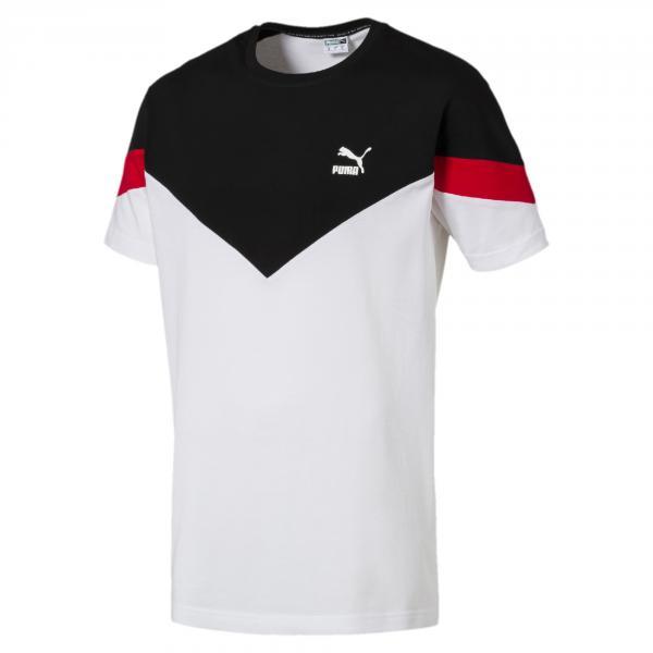 Puma T-shirt Iconic Mcs Bianco