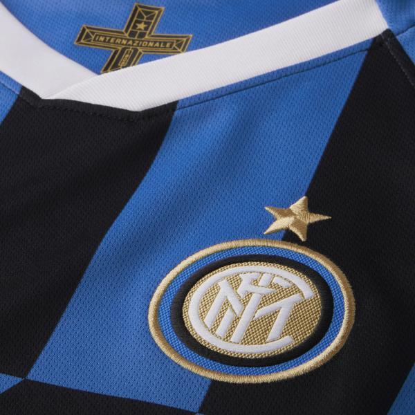 Nike Maglia Gara Home Inter Junior  19/20 Blu Tifoshop